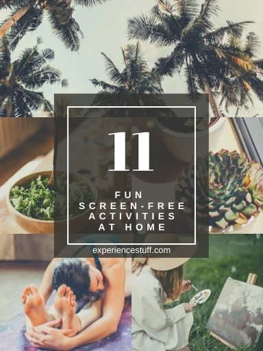 11 Fun Screen-Free Activities at Home