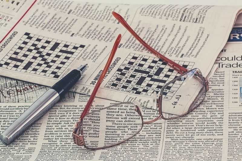Do a group crossword puzzle