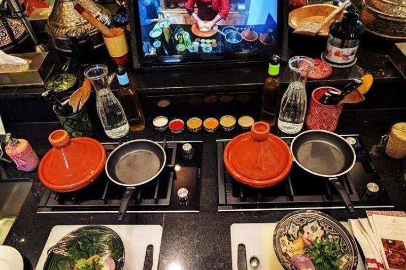 Have a cooking session