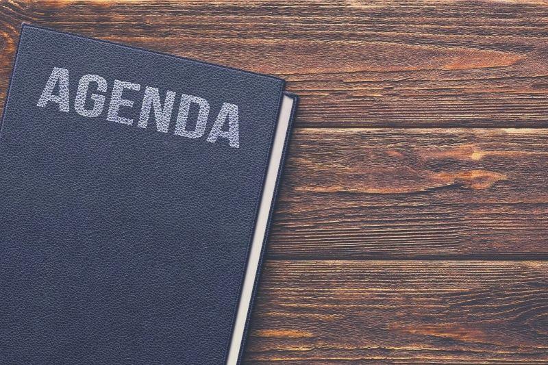 Set your agenda
