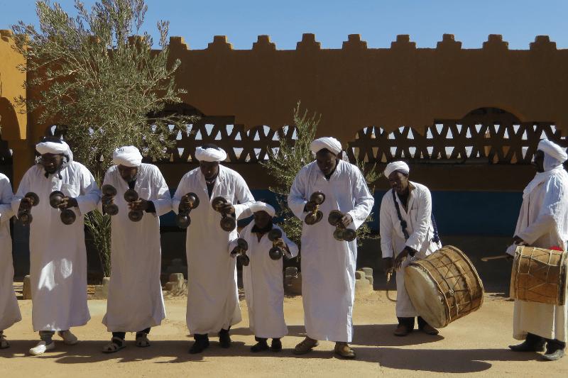 Kamalia Village Gnawa music